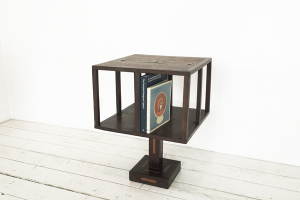 k_rotating bookshelf 20s wenge 1